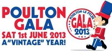 Poulton Gala 1 June 2013