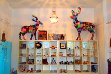 Charabanc Shop Interior