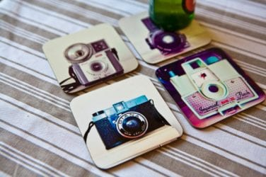 Camera Coasters (Sarah Galasko)