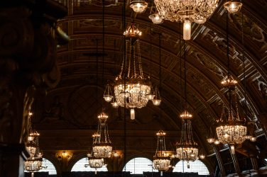 Blackpool Winter Gardens Empress Ballroom Chandeliers - Images courtesy of Jill Reidy