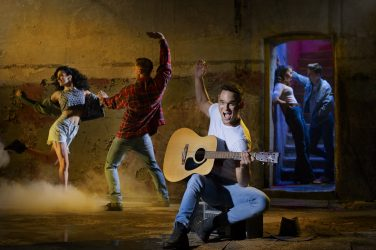 Gareth Gates in Footloose (Credit David Ellis)