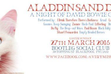 Aladdin Sandune: A Night of David Bowie Covers