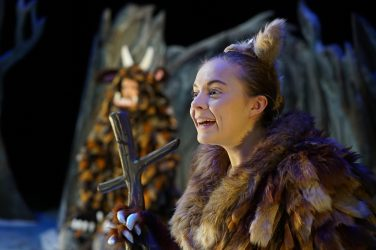 Gruffalo's Child production shot 1