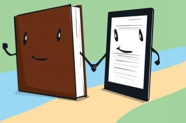 E-book or actual book?