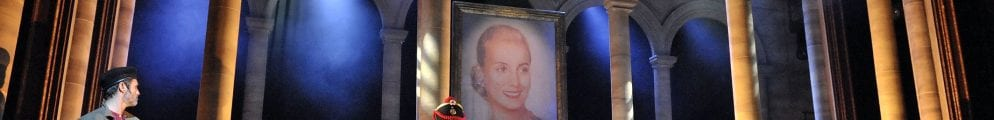 Bill Kenwright production of EVITA lyrics by Tim Rice music by Andrew Lloyd Webber directed by Bob Thomson and Bill Kenwright