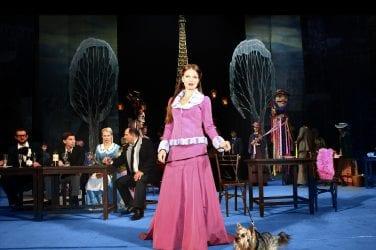 La Boheme Musetta and Dog