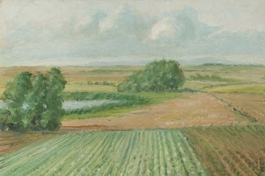 Levi Lumb, Marton Mere (c.1942) © the copyright holder. Courtesy: Grundy Art Gallery, Blackpool.