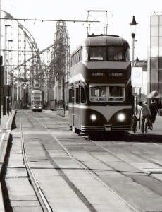David Simper - Blackpool tram