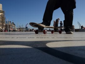Skateboard Comedy Carpet 2015 Image - Claire Griffiths