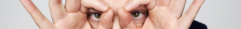 Derren Brown Finger Glasses